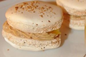 macarons yuzu cremeux foie gras